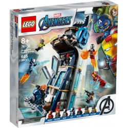 Avengers Tower Battle LEGO® Marvel 76166