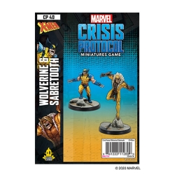 Wolverine and Sabretooth: Marvel Crisis Protocol