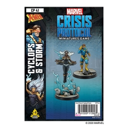 Storm and Cyclops: Marvel Crisis Protocol