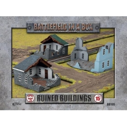 Ruined Buildings - WWII 15mm