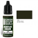 Acrylic Color Military Green