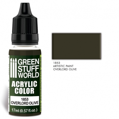Acrylic Color Overlord Olive