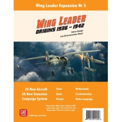 Wing Leader: Expansion 3: Origins 1936 to 1942
