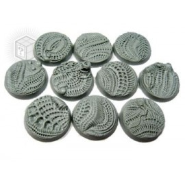 Beveled Edge: 25mm Alien Invasion Bases
