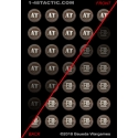 35 Action Tokens Punchboard