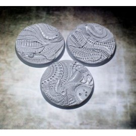 Beveled Edge: 50mm Alien Invasion Bases