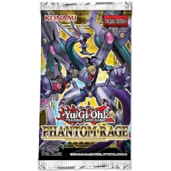 YGO TCG Phantom Rage Booster Pack