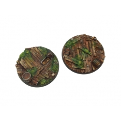 Wood Bases, Round 60mm
