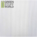 ABS Plasticard - Corrugated 0.5mm Textured Sheet - A4