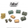 Fallout: Wasteland Warfare - Terrain Expansion: Cases and Crates