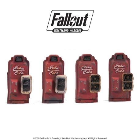 Fallout: Wasteland Warfare - Terrain Expansion: Nuka Cola Machines