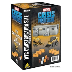 Marvel Crisis Protocol: NYC Construction Site Terrain Expansion