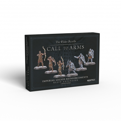 The Elder Scrolls: Call to Arms - Imperial Legion Reinforcements Resin Expansion