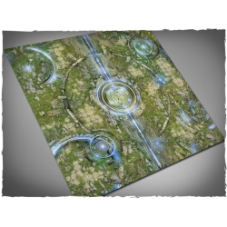 3ft x 3ft, Realm of Heavens Theme Cloth Games Mat