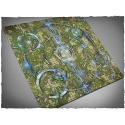 4ft x 4ft, Realm of Heavens Theme Cloth Games Mat