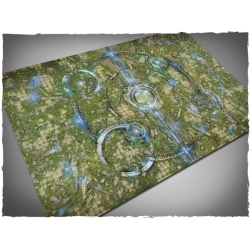 4ft x 6ft, Realm of Heavens Theme Cloth Games Mat