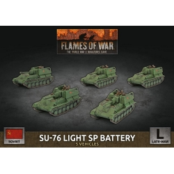 SU-76 Light SP Battery