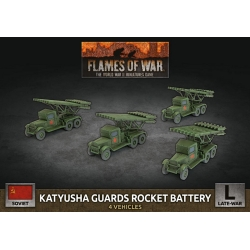 Katyusha Guards Rocket Battery