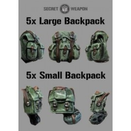 Mixed Backpack Set (5x Large 5x Small)