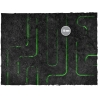 44in x 90in, Tomb World Theme PVC Games Mat