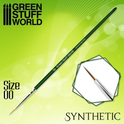Green Series Synthetic Brush - Size 00