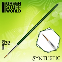 Green Series Synthetic Brush - Size 0