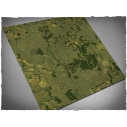 3ft x 3ft, Aerial Countryside Theme Cloth Games Mat