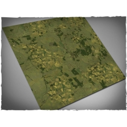 4ft x 4ft, Aerial Countryside Theme Mousepad Games Mat