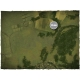 4ft x 4ft, Aerial Countryside Theme PVC Games Mat