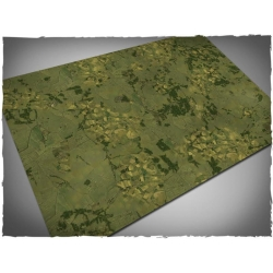 4ft x 6ft, Aerial Countryside Theme Cloth Games Mat