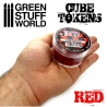 Red Cube Tokens