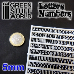 Letters and Numbers 5mm