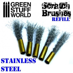 Scratch Brush Set Refill - Stainless Steel