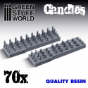 70x Resin Candles