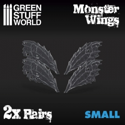 2x Resin Monster Wings - Small