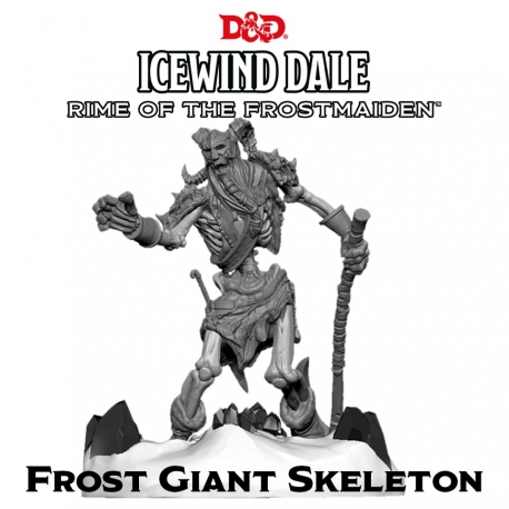 Icewind Dale: Rime of the Frostmaiden - Frost Giant Skeleton