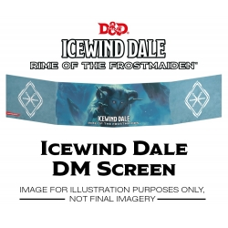 Icewind Dale: Rime of the Frostmaiden - DM Screen