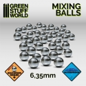 Mixing Paint Steel Bearing Balls in 6.35mm