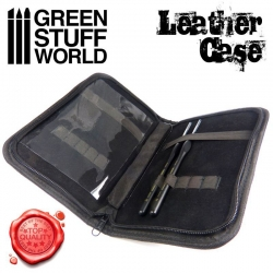 Premium Leather Case for Tools and Brushes