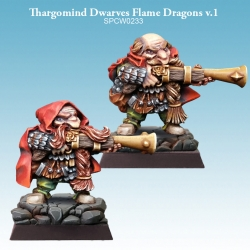 Thargomind Dwarves Flame Dragons v.1