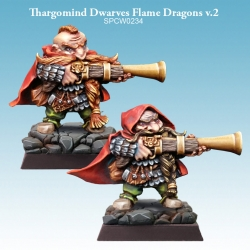 Thargomind Dwarves Flame Dragons v.2