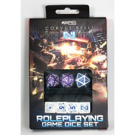 Infinity: Combined Army Dice Set