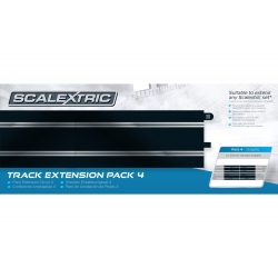 Track Extension Pack 4 - 4x Standard Straights