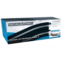 Track Extension Pack 7 - 4x 350mm Straights, 4x Radius 3 Curve 22.5°