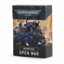 Warhammer 40,000: Mission Card Pack: Open War - French