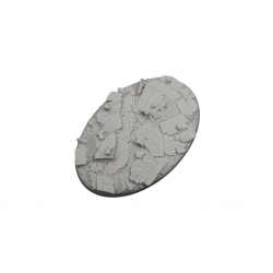 Ruined Chapel Bases, Oval 105mm