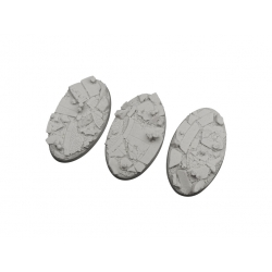 Ruined Chapel Bases, Oval 75mm