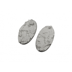 Ruined Chapel Bases, Oval 90mm