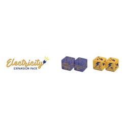 Railroad Ink Challenge Electricity Dice Expansion Pack