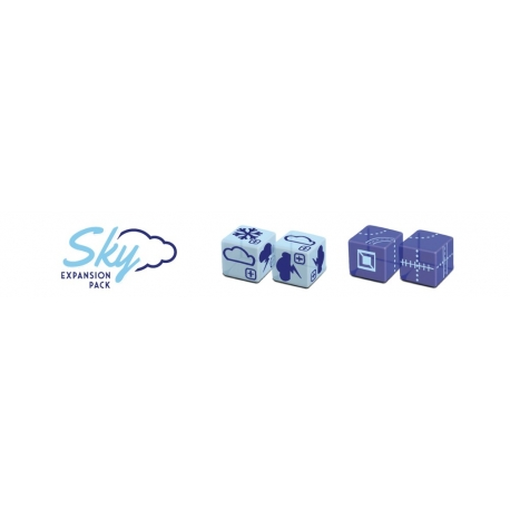 Railroad Ink Challenge Sky Dice Expansion Pack